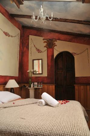 Cafe Cultura Boutique Hotel : Matrimonial room twelve