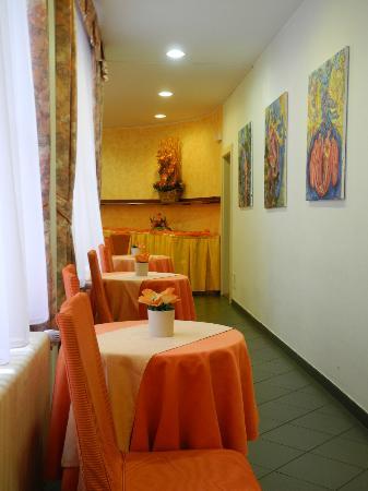 Hotel Melantrich: Место для завтрака