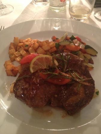 Enoteca: sirloin steak