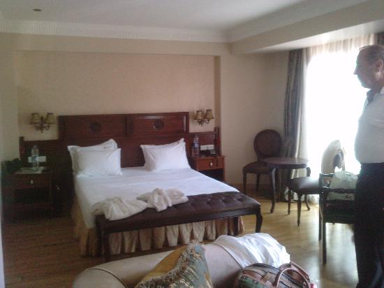 Villa Pasha Hotel: Suite Schlafbereich