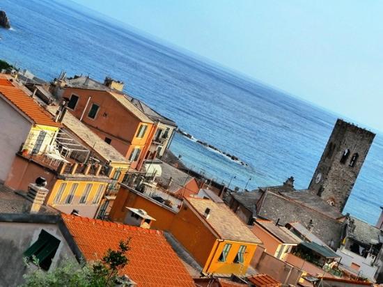 Hotel Villa Steno: Room View Overlooking Monterosso