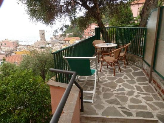 Hotel Villa Steno: Terrace with Stunning Views