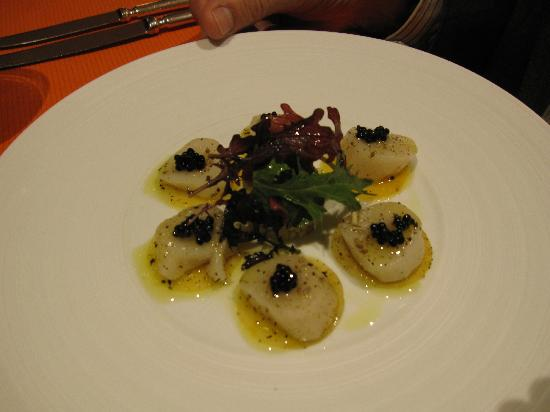 Auberge Saint Walfrid: Coquilles St Jacques