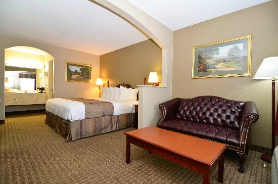 Best Western Catalina Inn: King bed room