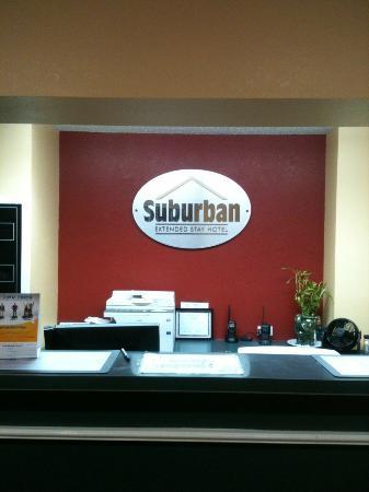 Suburban Extended Stay Albuquerque: Lobby