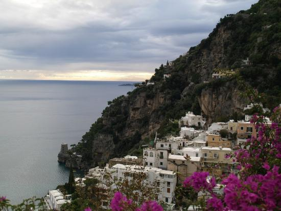 Positano Art Hotel Pasitea: View from the Room 