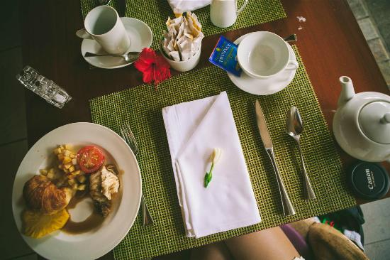 InterContinental Thalasso-Spa Bora Bora: breakfast