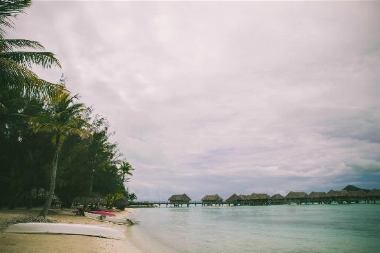 InterContinental Bora Bora Resort & Thalasso Spa: the beach
