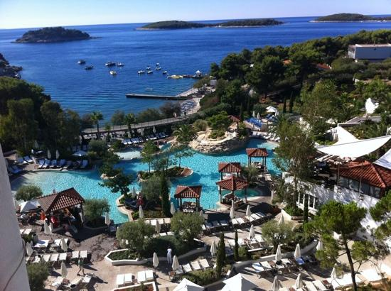 Amfora, hvar grand beach resort: ch aout 2012 amfora