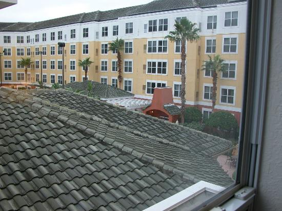 Residence Inn Orlando Lake Buena Vista: Pool view, really???