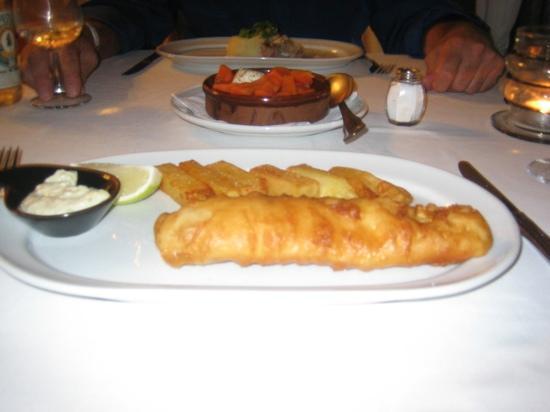 La Bocaina : posh fish and chips