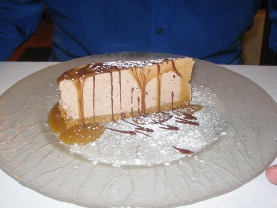 La Bocaina : chocolate cheesecake