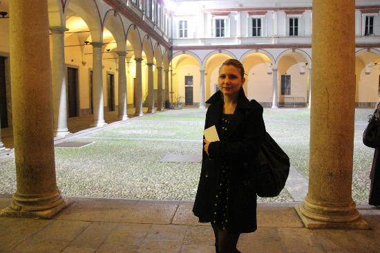 Conservatorio di Musica Giuseppe Verdi : Внутренний дворик