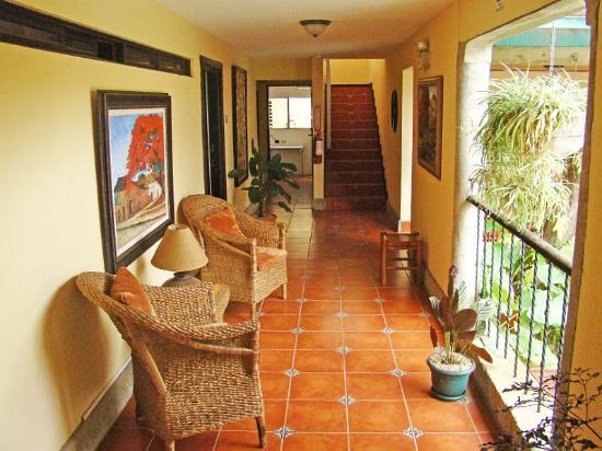 Hotel Colonnade: Pasillo Hotel primera planta