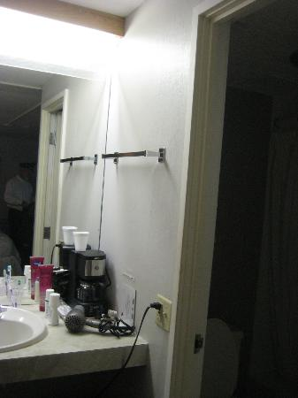 Bradford Inn & Suites: Bathroom area