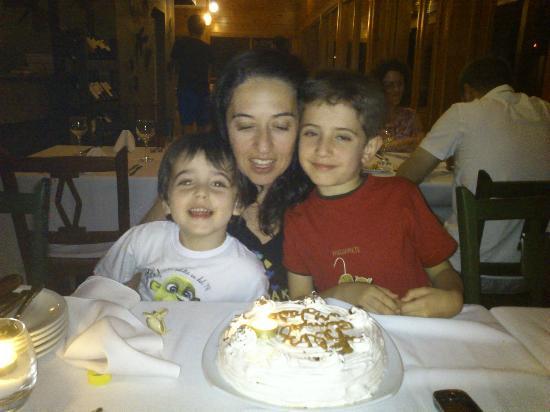 El Boyero Restaurant : Festejo de cumpleaños