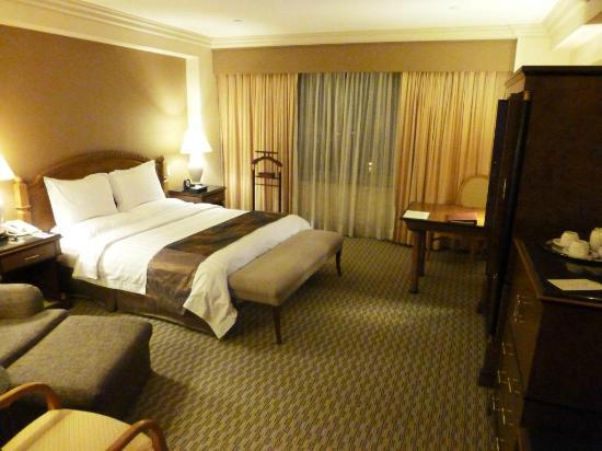 Grand Hi-Lai Hotel Kaohsiung : Bedroom on 29th floor