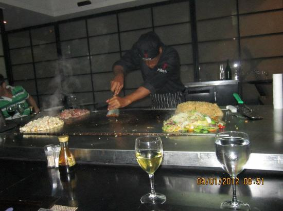 Catalonia Royal Bavaro: Nuestreo Chef del Restaurant de Comida Oriental (China/Japonesa)