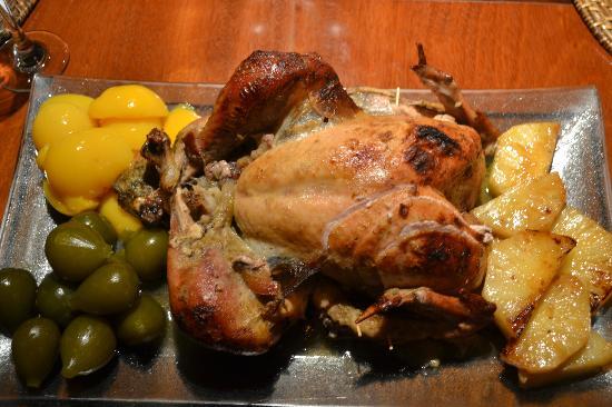 Villas de Trancoso Beach Bar & Restaurant : El pavo de la cena de Thanksgiving yummy!