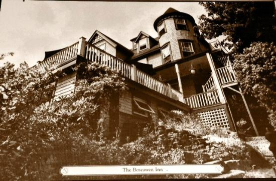 Boscawen Inn: Old Photo