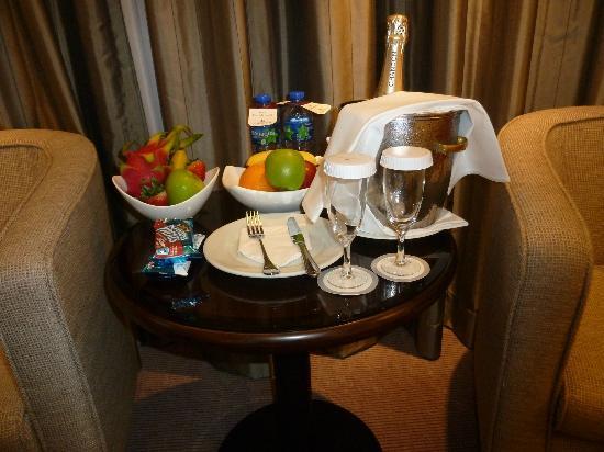 โรงแรมพริ๊นซ์ มาร์โค โปโล: Regalo por luna de miel