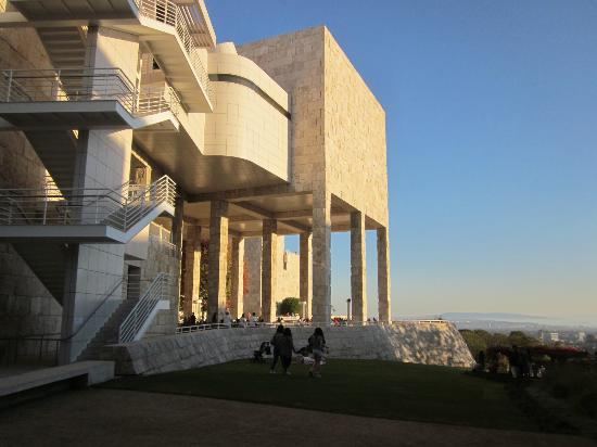 Getty Center y Los Angeles