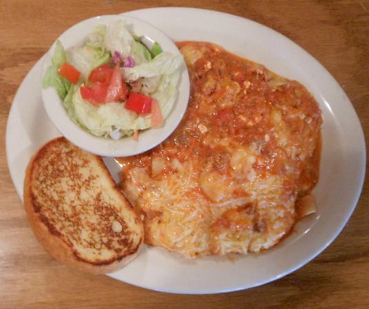 Jacob Myers Restaurant on the River: Lasagna