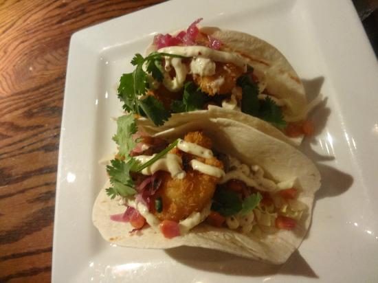 the fish house: lobster and steak tacos