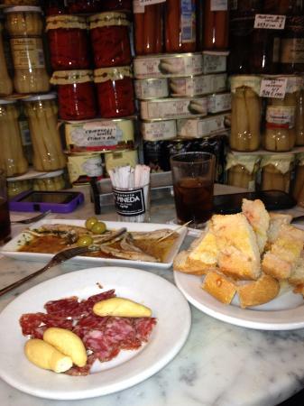 Barcelona Food Tour: Another stop plus black vermot