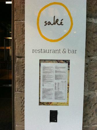 Sake Restaurant & Bar: Sake!! :)