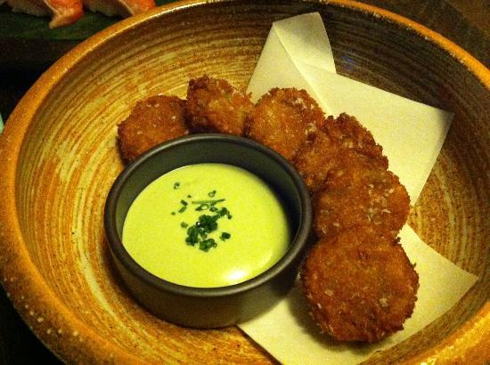 Sake Restaurant & Bar: Panko Rice Balls