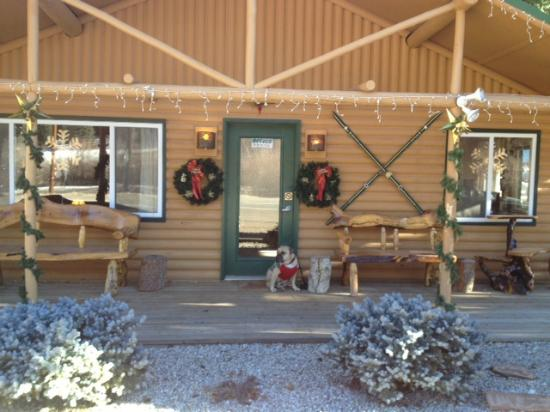 Golden Eagle Lodge is all decked out for the holidays!