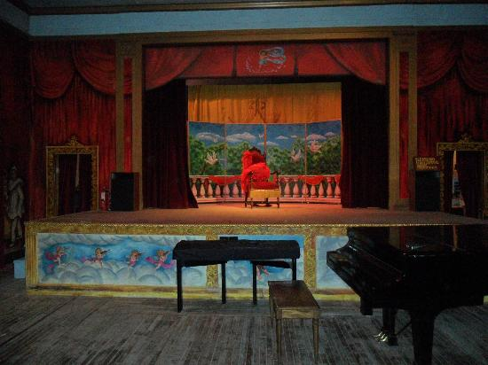 Amargosa Opera House and Hotel: The Opera House stage