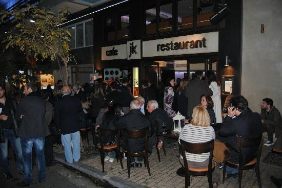 JK Restaurant: The entrance of the restaurant