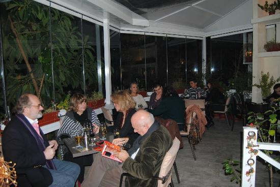 JK Restaurant: An aspect of the garden