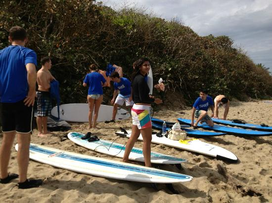 Swell Surf Camp: Beach