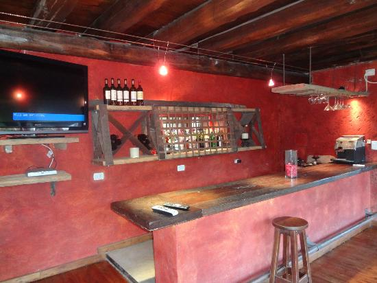 Lares de Chacras: Hotel bar...open on demand
