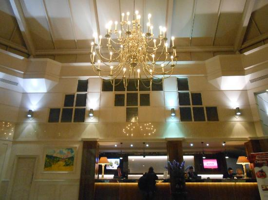 Ballsbridge Hotel: Reception
