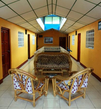 Hotel Encanto del Sur: Pasillos