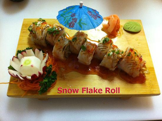 Ichiban Restaurant: Snow Flake Roll