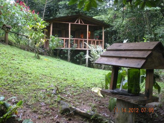 La Carolina Lodge: Casita at river's edge