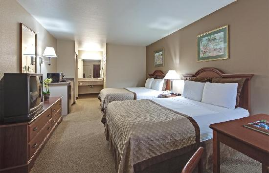 Hawthorn Suites by Wyndham Napa Valley: Studio Double Queen