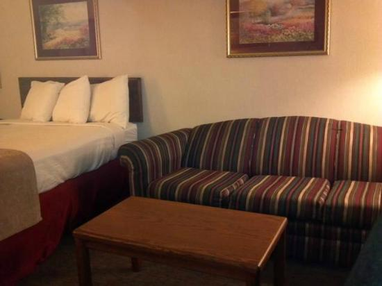 Days Inn Fargo: Couch in room