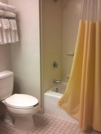 Days Inn Fargo: Nice size bathroom