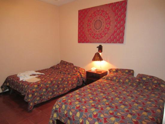 Hotel Villas El Parque: beds