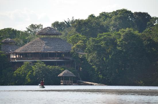 La Selva Amazon Ecolodge: Arriving at the lodge