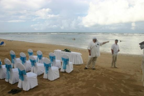 Grand Bahia Principe El Portillo: wedding