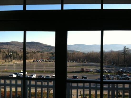 Clay Brook at Sugarbush: great view from living room
