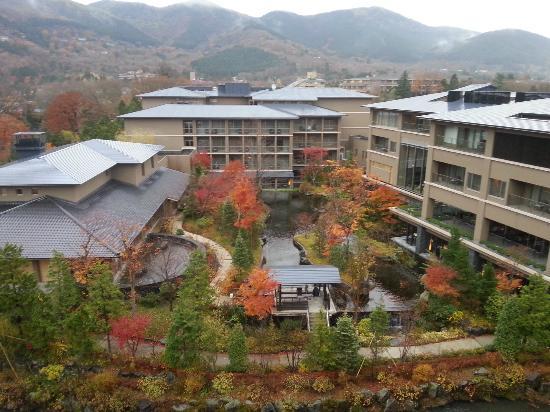 Hotel Harvest Hakone Koshien: 6階の和室より