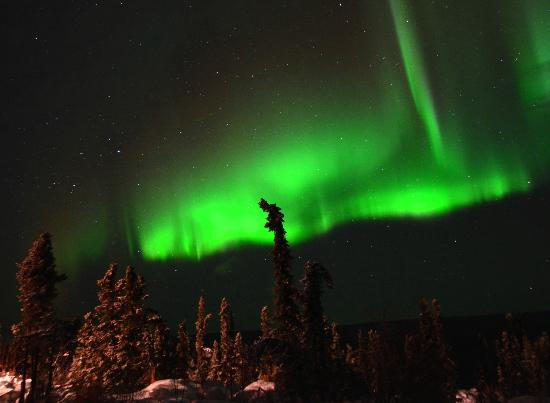 Aurora Borealis Lodge: Northern Lights on 2012, Nov 10